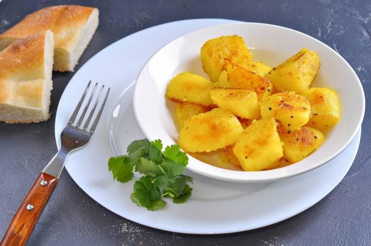 как приготовить полезную жареную картошку