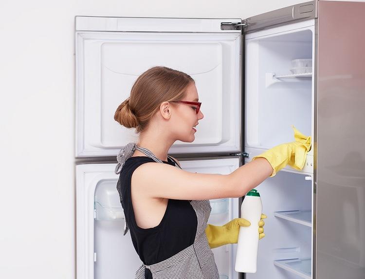 Бытовая химия для очищения холодильной камеры