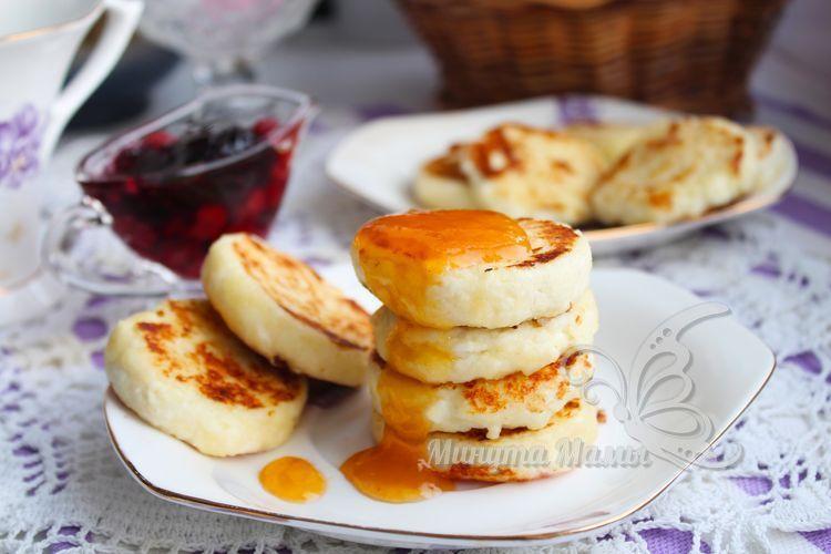 Фото рецепт сырников из творога без сахара