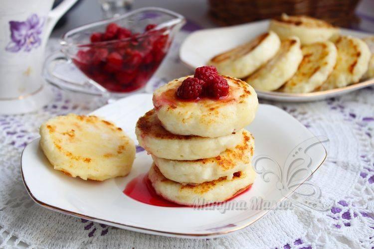 Рецепт с фото сырников из творога без сахара