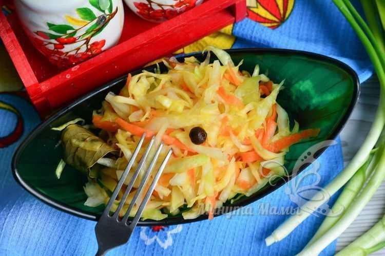 Квашеная капуста без соли и сахара - рецепт с фото пошагово