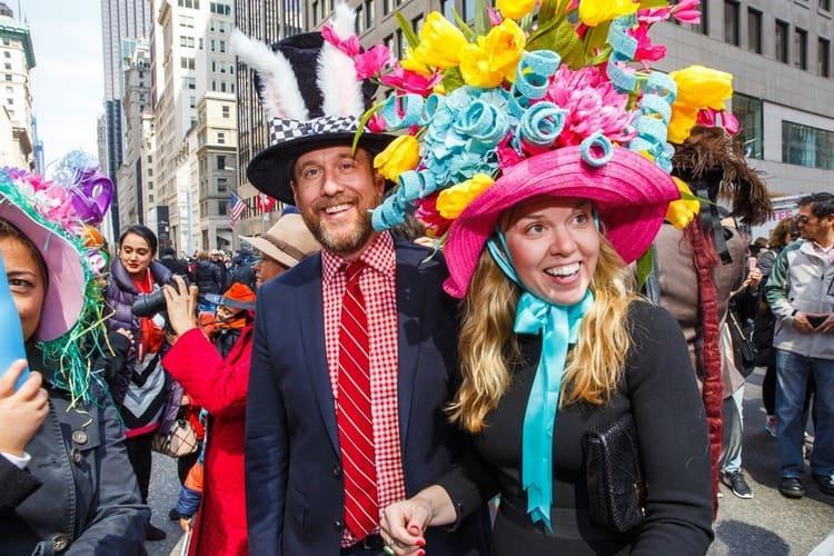 Америка шляпный парад