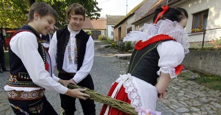 Пасха в Чехии