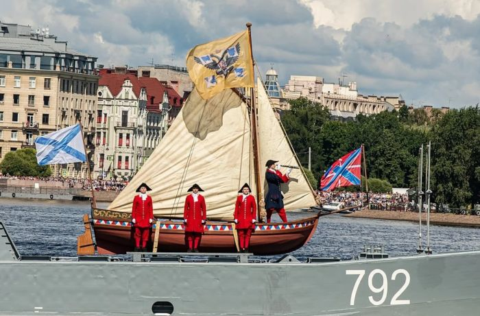 день морского флота в санкт-петербурге