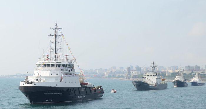 день морского флота в новороссийске