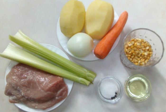 гороховый суп с говядиной рецепт классический