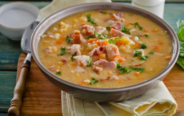 суп гороховый с говядиной рецепт с фото
