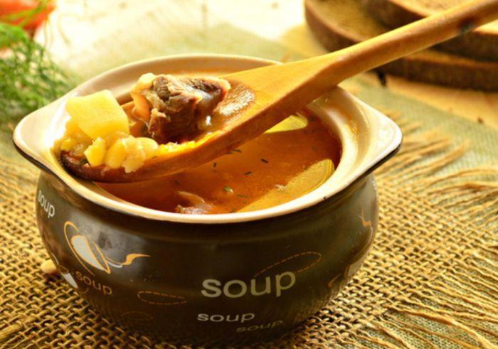 рецепт горохового супа с мясом говядины