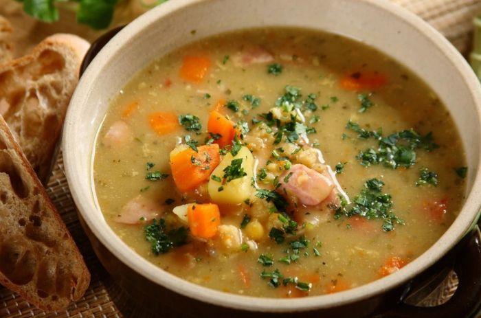 как приготовить гороховый суп с мясом говядины