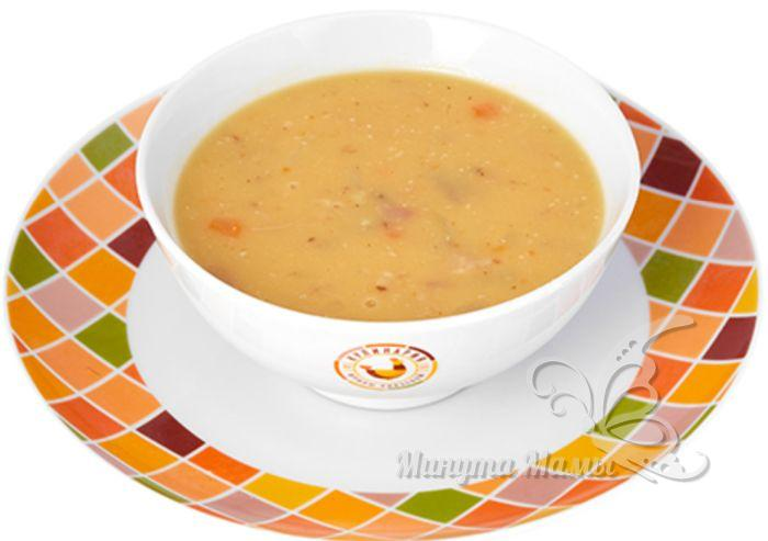 гороховый суп детям