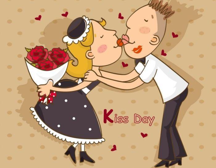 история всемирного дня поцелуев