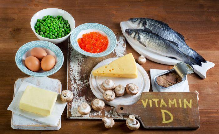 в каких продуктах много витамина д