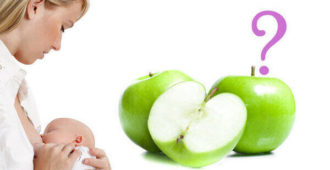 Яблоки при грудном вскармливани