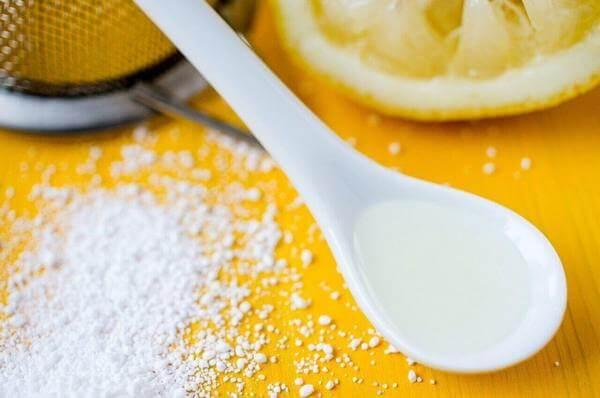 Как почистить серебро лимонной кислотой