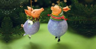 Новогодние поделки своими руками на 2019 год символ года Свиньи