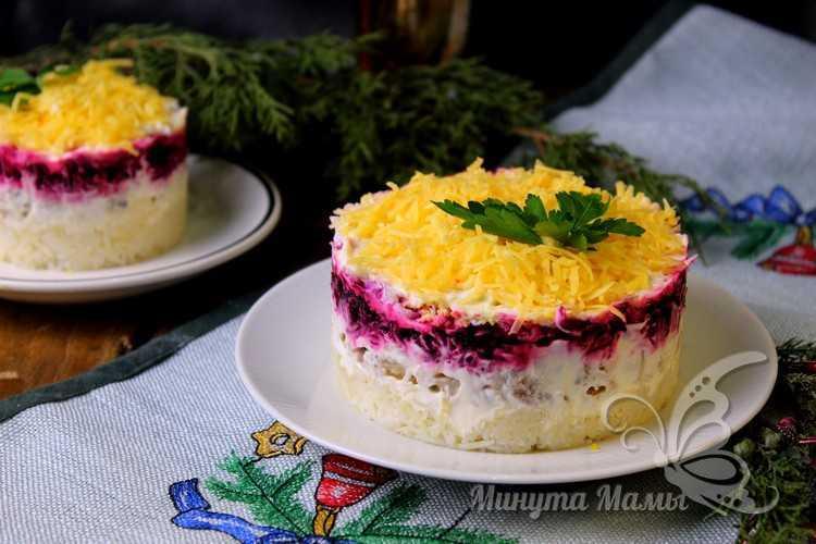 Праздничный салат из отварной рыбы рецепт с фото, очень вкусный, слоями
