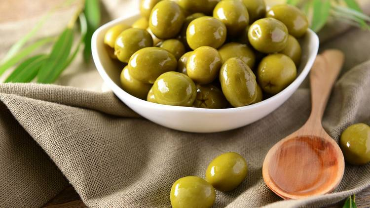 польза и вред оливок при гв