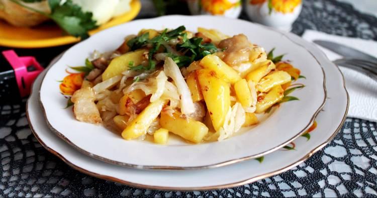 польза жареной картошки при гв