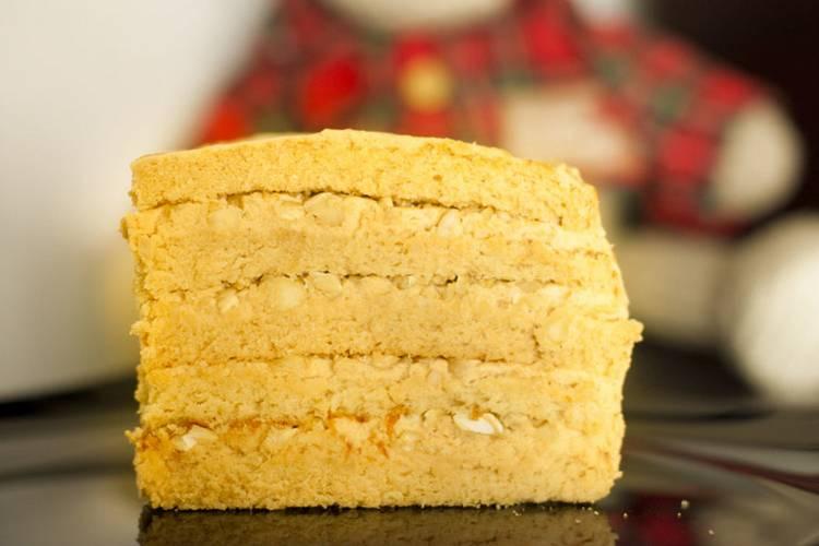 бисквит с медом