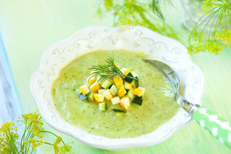 Суп-пюре при лактации