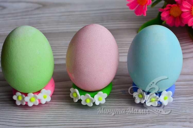 готовые крашеные яйца