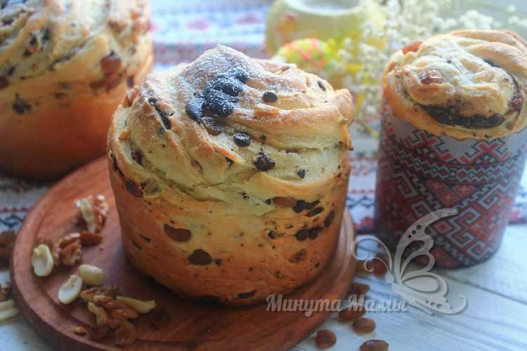 Пасхальный кулич «Краффин» - пошаговый рецепт с фото