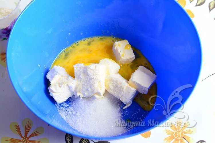 масло с сахаром