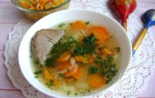 Суп из говядины с вермишелью и картошкой - пошаговый рецепт с фото