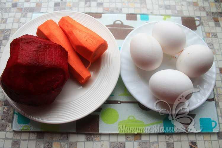 Отварить заранее яйца