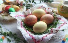 Декупаж яиц на Пасху салфетками