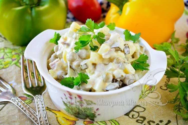 Салат «Оливье» с говядиной - рецепт классический, пошаговый рецепт с фото