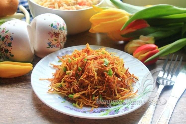 Фото-рецепт салата «Муравейник»