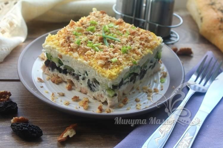 Пошаговый фото-рецепт салата «Нежность»