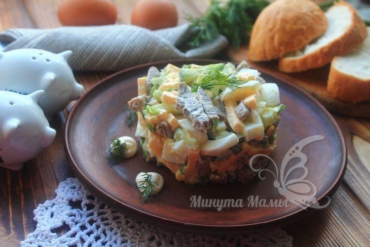 Пошаговый рецепт с фото салата «Фаворит»