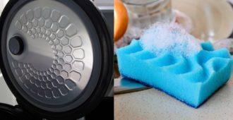 Как очистить крышку мультиварки от жира внутри в домашних условиях