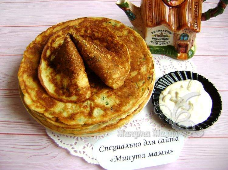 Блинчики из кабачков - самый вкусный рецепт пошагово с фото на сковороде