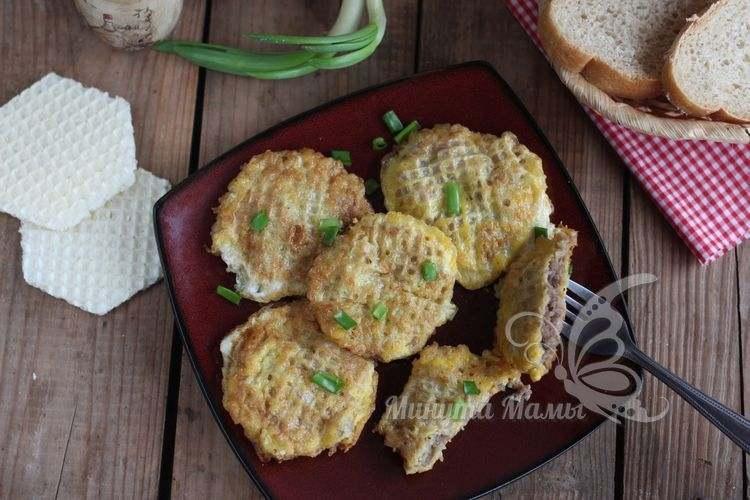Пошаговый рецепт бризолей на сковороде