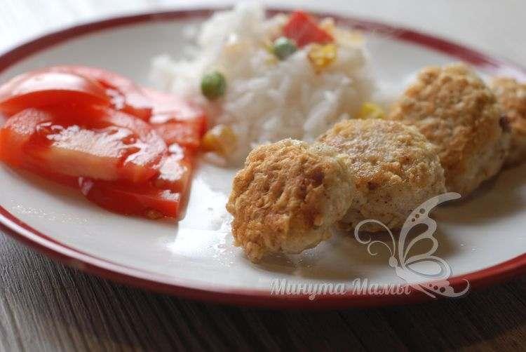Рецепт с фото рыбных котлет из овсянки