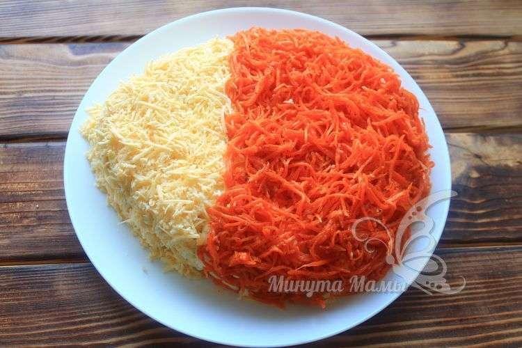 Распределить корейскую морковь
