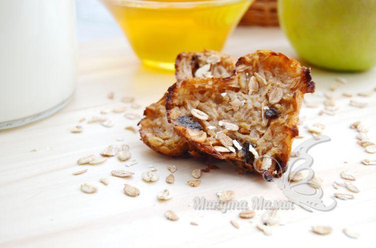 Рецепт с фото диетического овсяного печенья