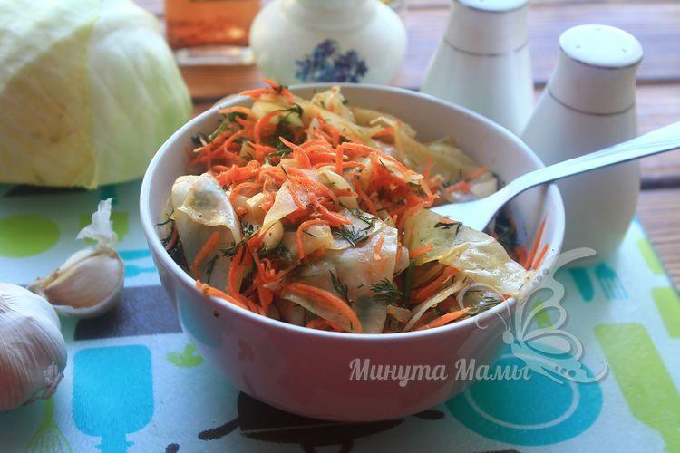 Вкусный рецепт капусты по-корейски быстрого приготовления