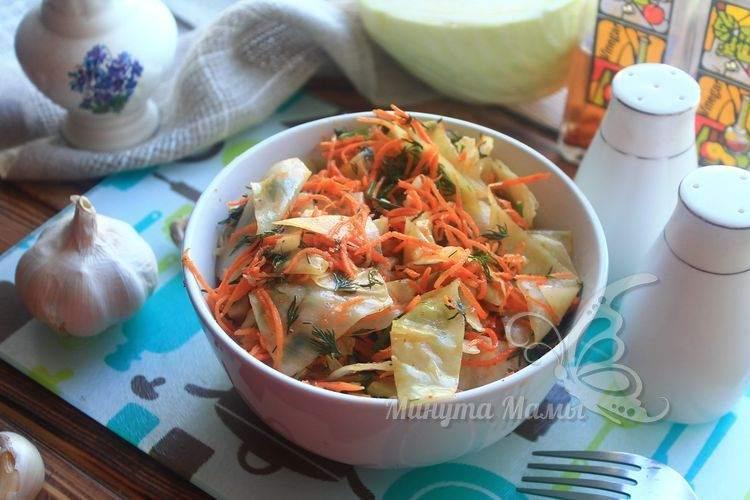 Рецепт с фото пошагово капусты по-корейски