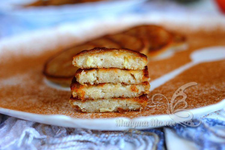 Оладьи из овсяного толокна на молоке – рецепт с фото