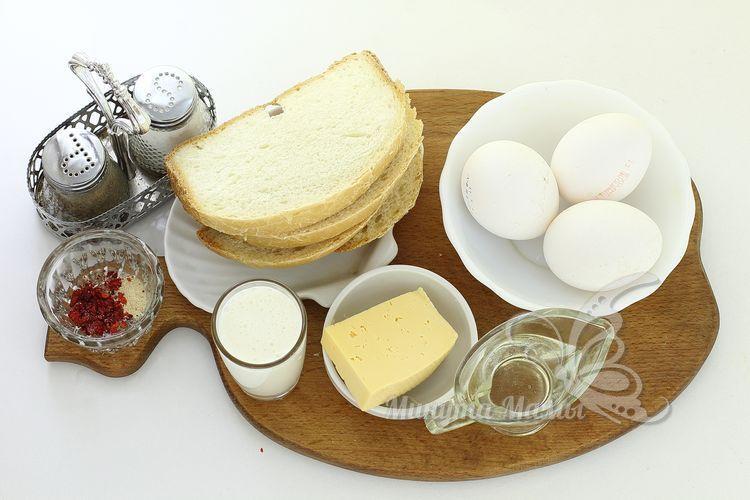 Ингредиенты для омлета