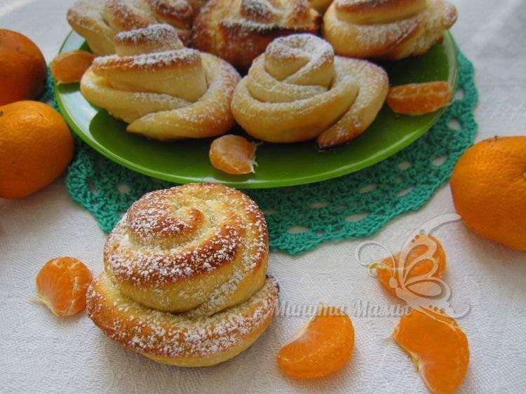 Фото-рецепт творожного печенья «Розочки»