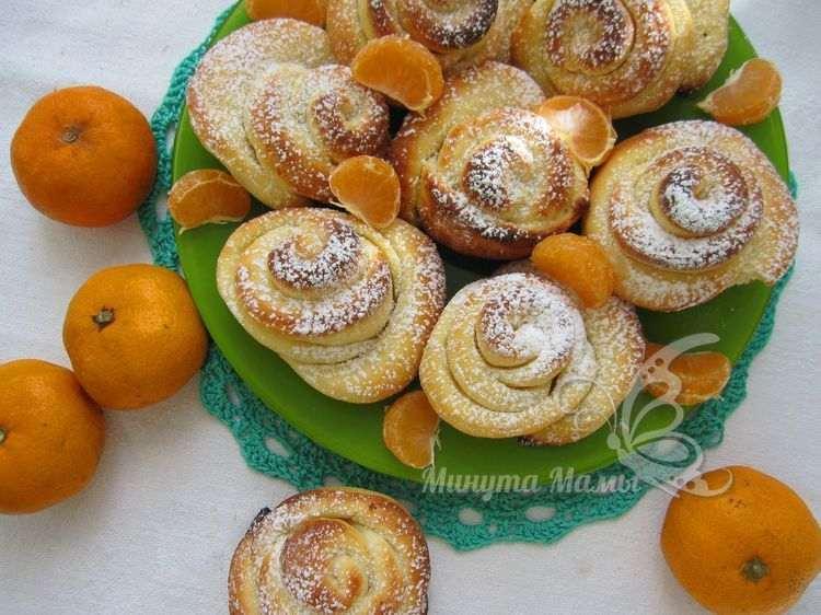 Рецепт с фото печенья из творога «Розочки»
