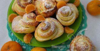 Вкусное печенье из творога «Розочки»