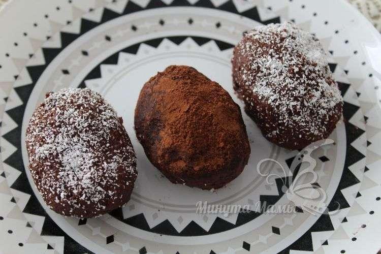 Рецепт с фото пирожного «Картошка» из печенья без сгущенки