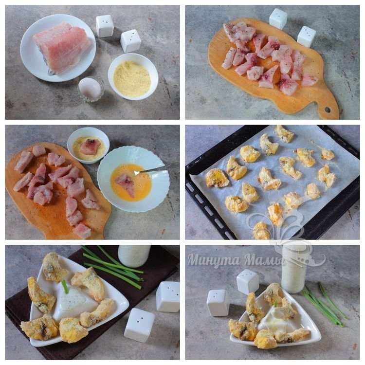 Мастер-класс рыба в кляре в духовке