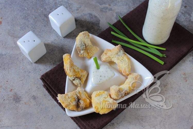 Фото-рецепт рыба в кляре в духовке